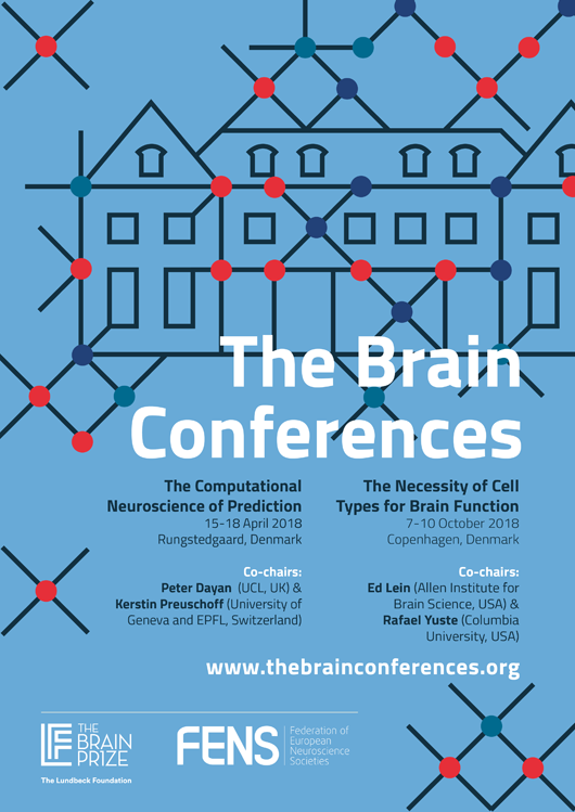 FENS The Brain Conferences Poster Design Pitch Black Graphic Design Poster